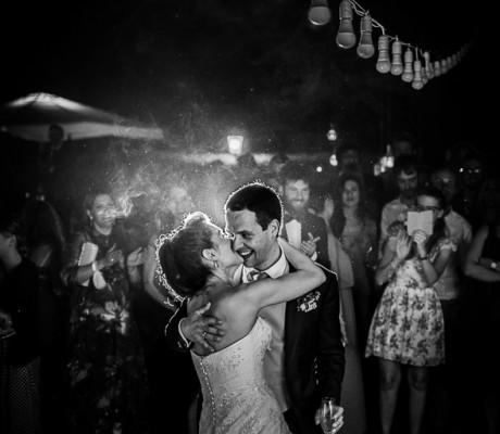 Foto non in posa per il matrimonio