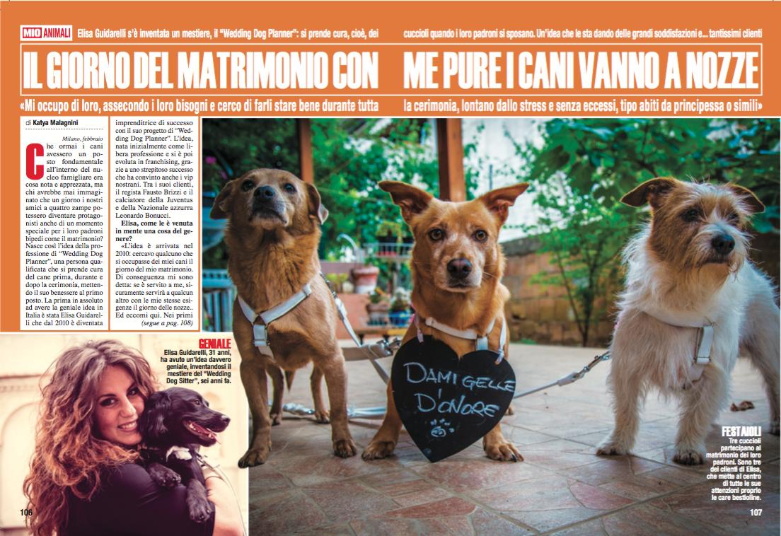 Intervista a Elisa Guidarelli Wedding Dog Sitter