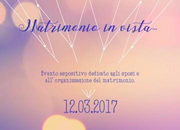 MATRIMONIO IN VISTA – Evento sposi Lecco 12 Marzo 2017